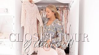 WARDROBE TOUR & CLEAR OUT   Freddy My Love
