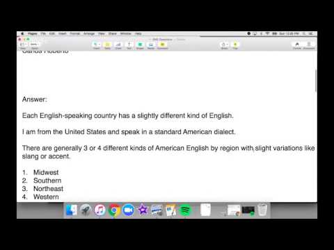 watch Different kinds of English accents in America