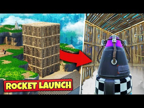 We Tried To STOP THE ROCKET LAUNCH Fortnite Battle Royale