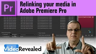 Relinking Your Media In Adobe Premiere Pro