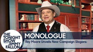 Roy Moore Unveils New Campaign Slogans - Monologue