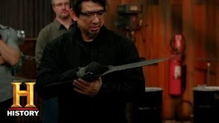 Forged in Fire: Slicing and Slashing with the Katar (S1, E4) | History