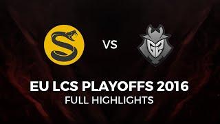 G2 Esports vs Splyce Highlights Grand Final All Games EU LCS Playoffs Summer 2016, G2 vs SPY