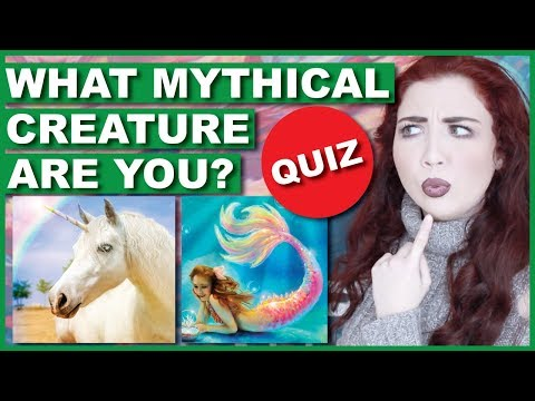 What Mythical Creature Are you QUIZ