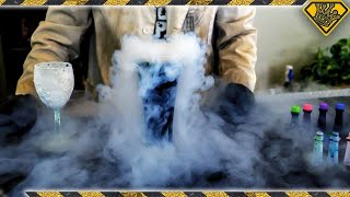Will Food Coloring Dye Liquid Nitrogen