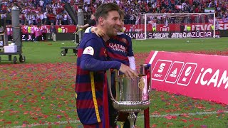 Lionel Messi vs Sevilla (Copa Del Rey Final 2016) HD 720p - English Commentary