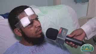 الناجون من حادث الحافلة العمانية يروون تفاصيل الحادث لـ |الأحساء نيوز