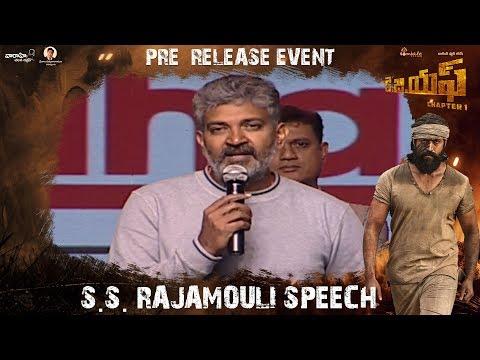 Xxx Mp4 S S Rajamouli Speech KGF Telugu Pre Release Event Yash Srinidhi Shetty Prashanth Neel 3gp Sex