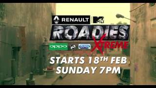 Renault MTV Roadies Xtreme | Starts from 18th February