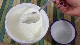 طرز تهیه ماست یونانی غلیظ و سفت با روشی ساده و آسان در منزل | Greek Yogurt Recipe