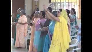 Praise & Worship Conducted By Rev.Fr.Anil Kiran Fernandes & Team at Divine Call Centre,Mulki