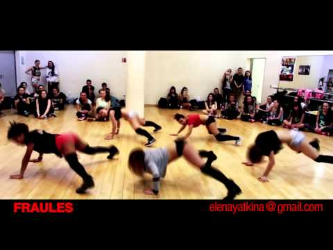 NEW TWERK CHOREO BY DHQ FRAULES TO LUMI ( BETTER THAN MILEY)
