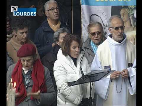 Chapelet de Lourdes du lundi 11 févr. 2019