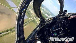 RideAlong! MiG-17 Fresco Helmet Cam - Rockford Airfest 2015