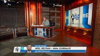 MMA Journalist Ariel Helwani Comments on Being Banned For Life By UFC - 6/6/16