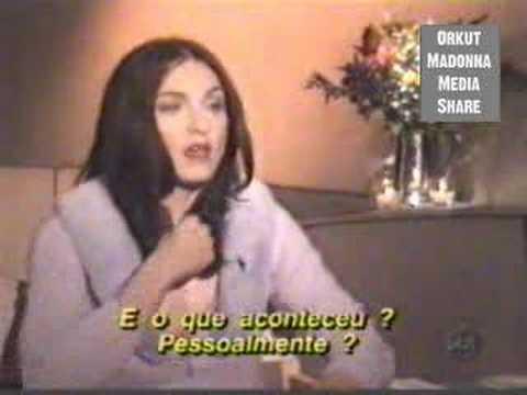 (P1) Madonna's Bizarre Interview With Brazilian Journalist