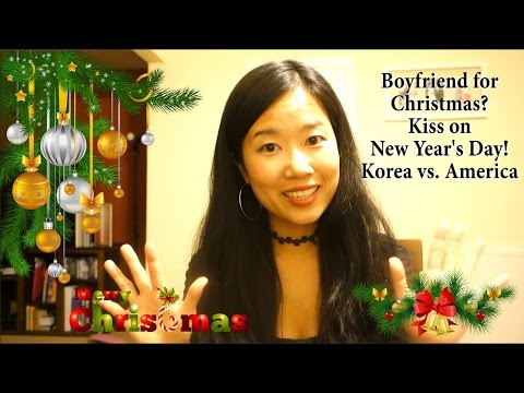 Love on Christmas and New Year's Day! Korea vs. America 한국 vs. 미국: 크리스마스와 새해 전통 Culture Talk #7