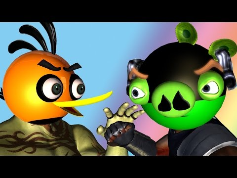 ANGRY BIRDS as Guardians of the Galaxy ♫ 3D animated mashup ☺ FunVideoTV Style ;
