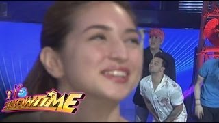 Billy kisses Coleen from afar