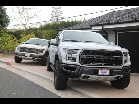 How Much Better is the New 2017 Ford Raptor