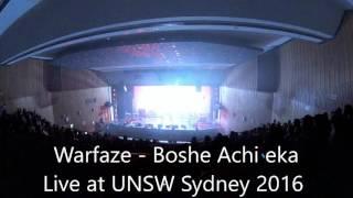 Warfaze  Ekti chele  Live at UNSW Sydney 2016 4K