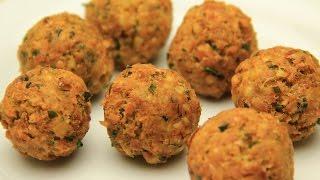 Falafel Tarifi - Nohutlu Kızarmış Vegan Köfte