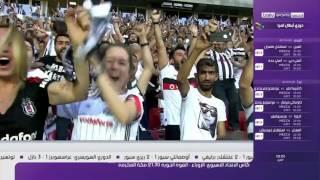 بشيكتاش يحافظ على لقب الدوري التركي برباعية في مرمى غازي عنتاب سبور - 28 / 5 / 2017