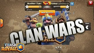 Clash Royale: CLAN WARS IN CLASH ROYALE ?!?! MORE BUILDER HUTS?!?