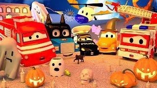Dia das BRUXAS !!  🎃 Especial HALLOWEEN na Cidade do Carro 👻 Desenhos animados Halloween
