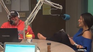 Christina Cortina returns to get her feet kissed and fondled