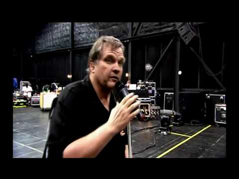 Gimme shelter rehearse Meat Loaf