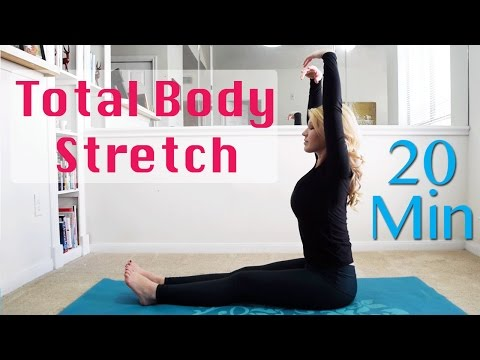20 Minute Total Body Stretching Routine - Flexibility and Relaxation