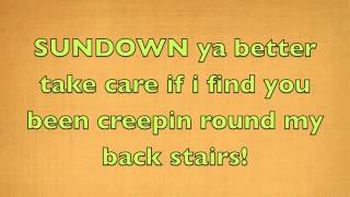 Gordon Lightfoot   Sundown Official Lyrics hd1080