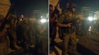 Taksim'de darbeci asker vatandaşa böyle ateş açtı