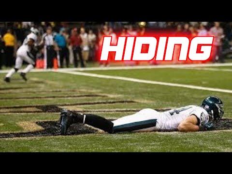 NFL NCAA Hidden Player Trick Plays