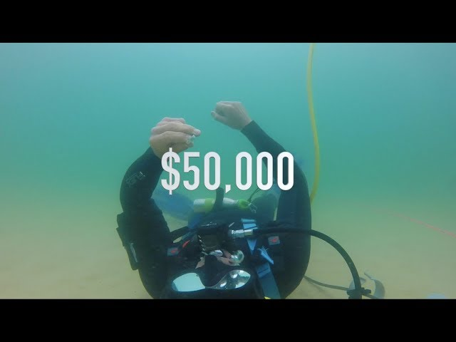 Found $50,000 CASH Biggest Platinum Diamond Gold Antique Rings, Ocean Treasure Metal Detecting