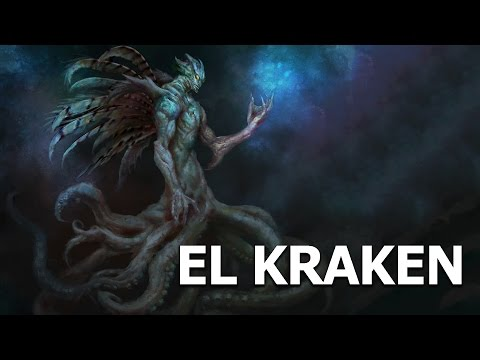 EL KRAKEN criaturas mitologicas Documental monstruos marinos