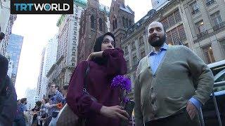 Ramadan in New York: Muslims break fast in front of Trump Tower