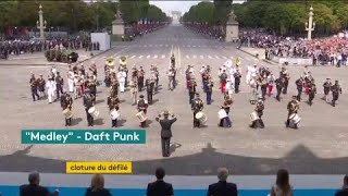 Quand l'armée française joue Daft Punk #14juillet bit.ly/2t9WPxc
