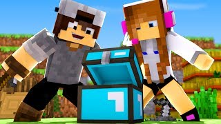 Minecraft: BIBIDRO #10 - BAÚ DE DIAMANTE!