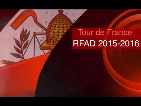 Tour de France des compagnons RFAD 2015-16