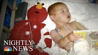 Inspiring America: Stuffed Toy Doctor Puts Children At Ease Before Surgery | NBC Nightly News