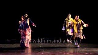 Bhutanese dance: Yar Gee Gung Ngyen Aingla by Royal Academy of Performing Arts