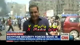 تقرير قناة CNN عن فض اعتصامى نهضة مصر ورابعة العدوية
