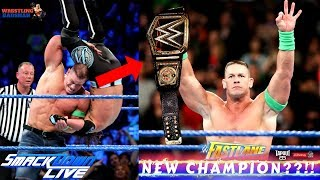 JOHN CENA Winning WWE Championship at FASTLANE??!! | 17 time Champion??!!
