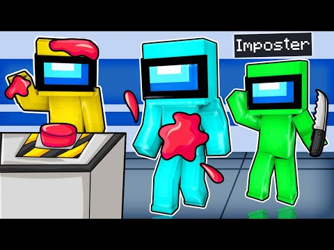 Finding the IMPOSTER in Minecraft Among Us