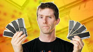 Watch this BEFORE buying an AMD CPU! - Every RAM Speed Tested