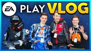 Star Wars Jedi: Fallen Order - EA Play 2019 Vlog (4K 60FPS)