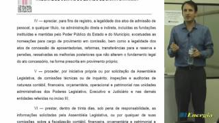 AULÃO TCE SC - Controle Externo da Administração Pública - Profº Leonardo