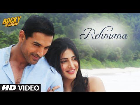 REHNUMA Video Song | ROCKY HANDSOME | John Abraham, Shruti Haasan | T-Series